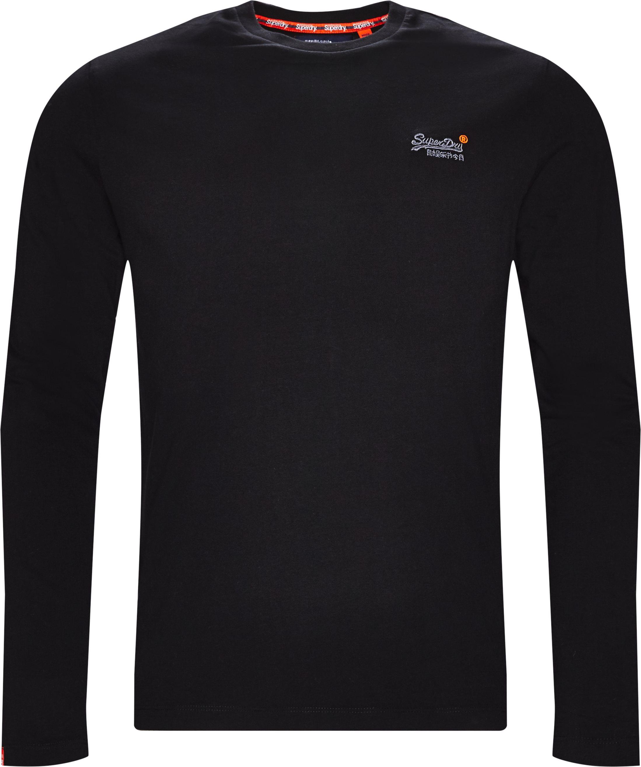 M6000 LS Tee - T-shirts - Regular fit - Sort